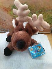 Ganz Reindeer Plush Webkinz  HM137 With Sealed Code Ganz