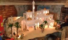presepe stile arabo artigianale  crib aldo  150x75 alto 80 cm art0500