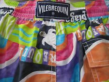 Vilebrequin NWT & Bag SwimSuit Bathing Suit Trunks Board Shorts Men XL Auth
