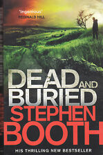 STEPHEN BOOTH - dead and buried BOOK