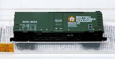 Micro-Trains Line MTL 21130 N 40' Plug Dr Box Car British Columbia BC Rail 8004