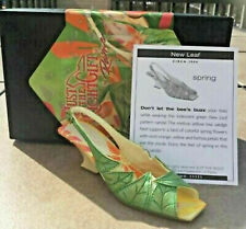 Jtrs Just The Right Shoe New Leaf 25595 Retired! New!