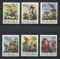 35758) Poland 1962 MNH Konopnicka 6v. Scott #1105/10
