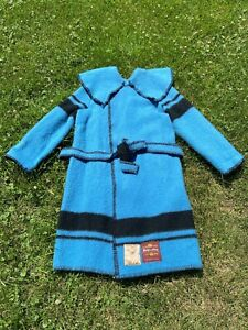 Early's of Witney Wool Blanket Capote Rendezvous Coat