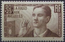 "FRANCE #B79: MNH ""Blind Man and Radio"" issue with surtax"