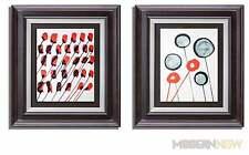 (2) Alexander Calder Original Farbe Lithographie Limitierte Ed 1966 Maßgefertigt