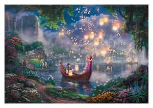 Disney Tangled Painting Children Cartoon Film Wall Art Poster/Canvas Picture
