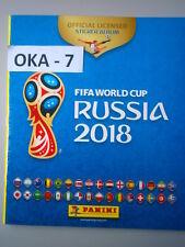Panini FIFA World Cup Russia 2018 Empty Football Album