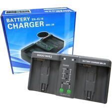 Nuevo Cargador de batería compatible con STR Nikon MH-26a MH-21a Adaptador Kit MH-26aAK F/S