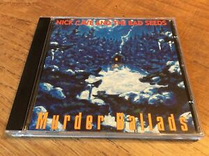 "Nick Cave & The Bad Seeds ""Murder Ballads"" cd excellent [carnage alone push KCRW"