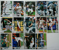 2020 Topps Series 1 Oakland Athletics A's Base Team Set of 14 Cards