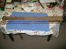 Vintage Bamboo Fly Rod 3 Pcs 9' Marked Governor With Cloth Sleeve Estate Lot