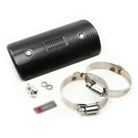 Universal Exhaust Pipe Guard Heat Shield Carbon Fiber Cover For Honda Motorcycle