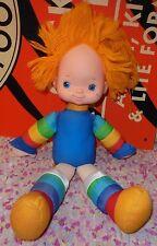 18 in Rainbow Brite girl doll yarn hair Hallmark vintage 1983 cartoon novelty