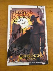 Stephen King's DARK TOWER (Var Ed) #6 **2X SIGNED P. DAVID! J.S. CAMPBELL!** COA
