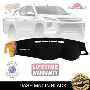 DASH MAT for Mitsubishi Triton MR GLX+ GLS GLR Premium 1/2019-2020 DM1393 Black