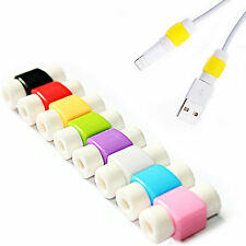 10PCS/LOT Protector Saver Cover for iPhone 5 6 Phone USB Charger Cable Cord Wire