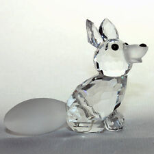 Swarovski mini sitting  fox  ,  vos  zittend 7677/045/000  MIB