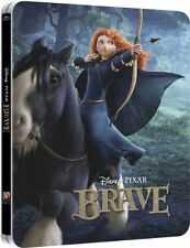 Brave 3D Limited Edition SteelBook [BR3D + Blu-ray, Region Free, 2-Disc] NEW