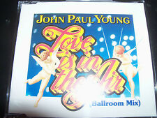 John Paul Young Love Is In The Air Rare Australian CD Single (Alberts Production