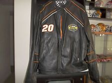 #20 Tony Stewart The Home Depot Leather Jacket