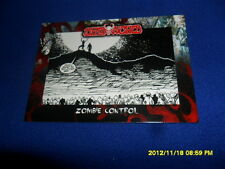 2012 BREYGENT DEAD WORLD ZOMBIE CARD #49 & 50 & 51 COMIC ART