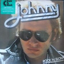 JOHNNY HALLYDAY ALBUM VINYLES 33T ROCK 'N' SLOW  NEUF SOUS BLISTER