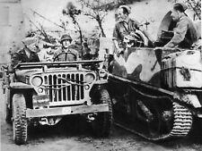 WW2 - Italie 1943 - La Jeep du Général Eisenhower