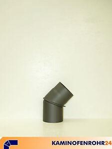 robustes Stahlblech Rauchrohrbogen drehbar 0° Durchmesser wählbar 90°