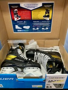 Bauer Supreme Ultrasonic 8.5 Fit 3 (DEMO Skated on for 30 min)