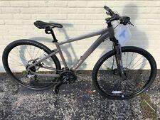 Raleigh Bikes Mens Route 2 Hybrid Bike Medium