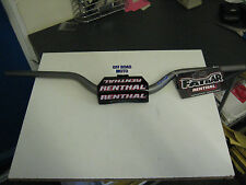 Renthal Trials Bike Handlebars. FATBAR / FATBARS. FREE BAR PAD!! **BLACK**