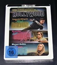 Once Upon A Time IN Hollywood 4K blu ray + Limitada steelbook Nuevo