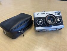 Rollei 35  S With Orig Leather Case  - Good Condition And Clean 2.8 Sonnar Lens!