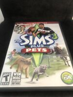 Sims 3 Plus Pets: Limited Edition (Windows/Mac, 2011) PC Game