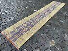 Patchwork, Bohemian rugs, Runner rug, Handmade rug, Turkish rug | 2,0 x 9,3 ft
