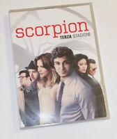 SCORPION TERZA STAGIONE DVD ITALIA FUORI CATALOGO - SIGILLATO