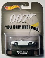 Hot Wheels Retro Entertainment Toyota 2000 Gt Roadster 007 You Only Live Twice