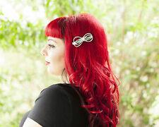 Mint Green double Bow Hair Clip!