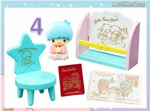 New Re-ment Japan Sanrio Miniature Little Twin Stars Dolly Room Set No.04