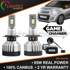 CITROEN C1 MK2 CANBUS 85W 8000LM H7 Delgado Kit de conversión LED Coche Headlight Bulbs