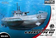 Meng Model WB-003 Warship Builder U-boat Type VII (Q Edition)