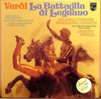 2 LP BOX PHILIPS Verdi LA BATTAGLIA DI LEGNANO Gardelli CARRERAS 6700 105 NM