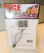 NCE #177 D13WP HO DCC Decoder for HO engines w/NMRA 8-pin Plug NEW
