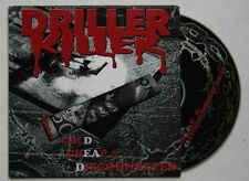 Driller Killer Cold Cheap & disconnected ADV cardcover CD punk hc
