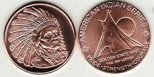 "American Indian Series ""Chief Geronimo"" 1 oz. Copper Round #2"