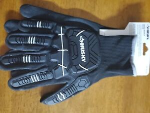 2 Pack - Husky X-Large Dipped Impact Glove