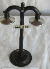 Vintage Railroad Double Gooseneck Street Lamp
