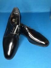 Vintage Freeman Men's Black Leather Oxford Dress Shoes Size 10 1/2 D Model 4041
