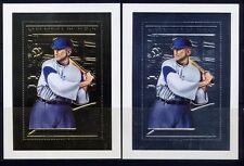 TSCHAD 2002 Baseball Sport Sports Silber Gold Block 357-358  ** MNH